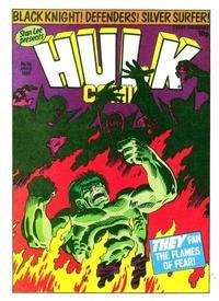 Cover Thumbnail for Hulk Comic (Marvel UK, 1979 series) #45