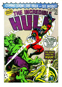 Cover Thumbnail for The Incredible Hulk (Marvel UK, 1980 series) #61