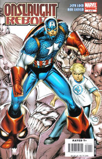 Onslaught Unleashed #1 Rob Liefeld Avengers Variant