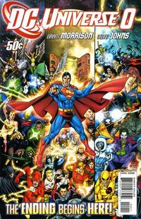 Cover Thumbnail for DC Universe (DC, 2008 series) #0