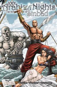 Cover Thumbnail for 1001 Arabian Nights: The Adventures of Sinbad (Zenescope Entertainment, 2008 series) #0 [Cover A Al Rio]