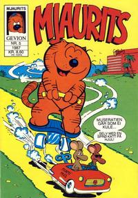 Cover Thumbnail for Mjaurits (Gevion, 1986 series) #5/1987