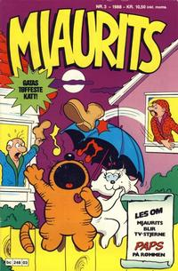 Cover Thumbnail for Mjaurits (Bladkompaniet, 1988 series) #3/1988