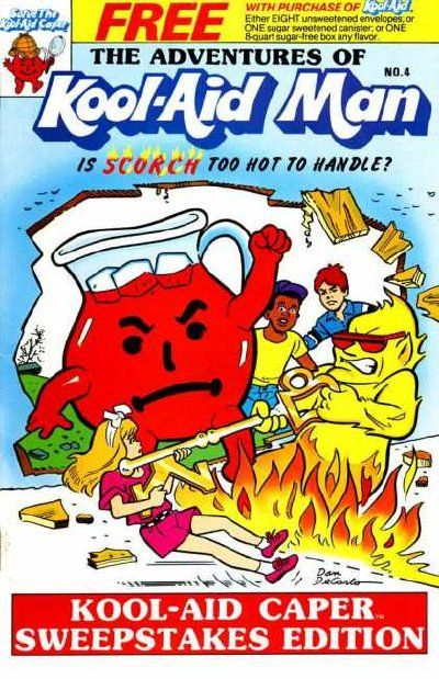 Cover for The Adventures of Kool-Aid Man (Archie, 1987 series) #4 [Archie banner; no barcode]