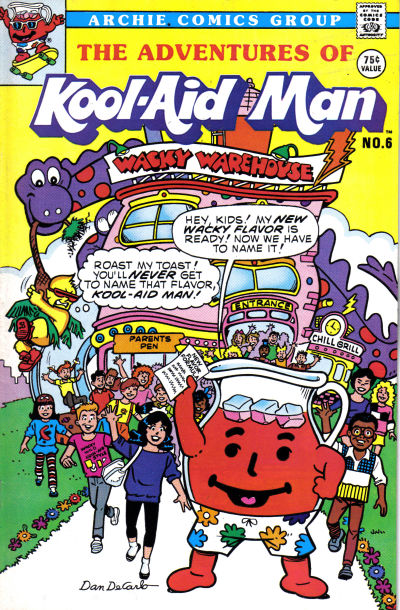 Cover for The Adventures of Kool-Aid Man (Archie, 1987 series) #6
