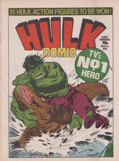 Cover for Hulk Comic (Marvel UK, 1979 series) #3