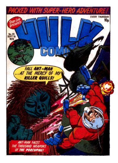 Cover for Hulk Comic (Marvel UK, 1979 series) #29