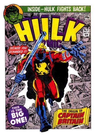 Cover for Hulk Comic (Marvel UK, 1979 series) #31