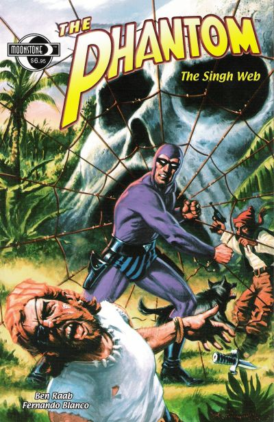 Cover for The Phantom: The Singh Web (Moonstone, 2002 series)