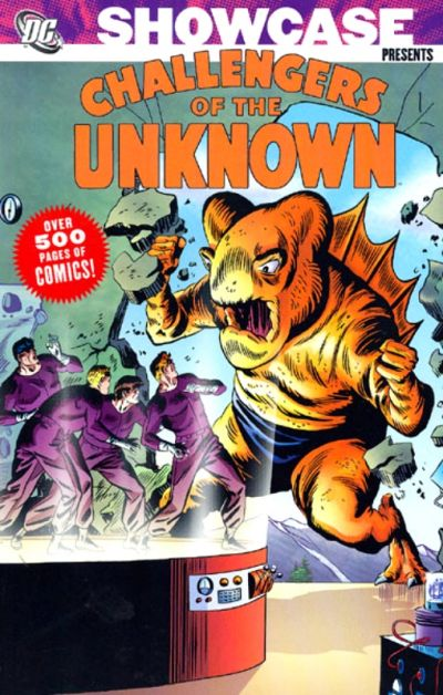 Cover for Showcase Presents Challengers of the Unknown (DC, 2006 series) #2