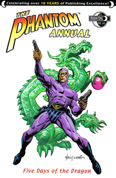 Cover for The Phantom Annual (Moonstone, 2007 series) #1