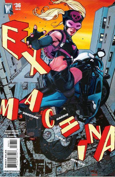 Cover for Ex Machina (DC, 2004 series) #36