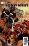 Cover for Invincible Iron Man (Marvel, 2008 series) #4 [Salvador Larroca Standard Cover]