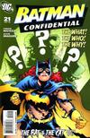 Cover for Batman Confidential (DC, 2007 series) #21