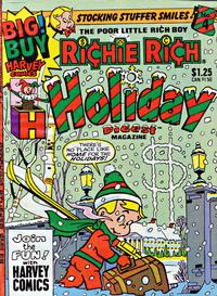 Cover Thumbnail for Richie Rich Holiday Digest Magazine (Harvey, 1980 series) #4