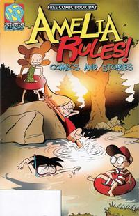 Cover Thumbnail for Amelia Rules! Comics and Stories [Free Comic Book Day 2008] (Renaissance Press, 2008 series)