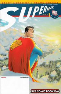 Cover Thumbnail for All-Star Superman [Free Comic Book Day Edition] (DC, 2008 series) #1