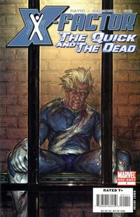 Cover Thumbnail for X-Factor: The Quick and the Dead (Marvel, 2008 series) #1