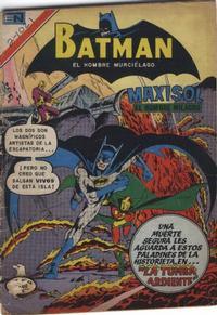 Cover Thumbnail for Batman (Editorial Novaro, 1954 series) #1021