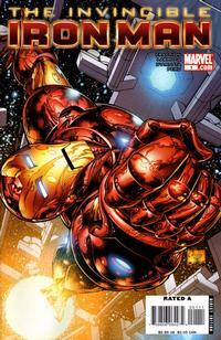 Cover Thumbnail for Invincible Iron Man (Marvel, 2008 series) #1 [Joe Quesada Cover]
