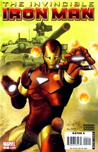 Cover Thumbnail for Invincible Iron Man (Marvel, 2008 series) #2 [Salvador Larroca Cover]