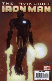 Cover for Invincible Iron Man (Marvel, 2008 series) #3 [Salvador Larroca Cover]