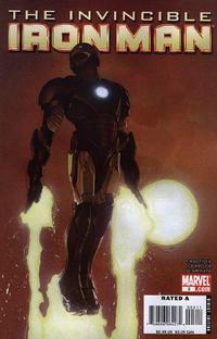 Cover Thumbnail for Invincible Iron Man (Marvel, 2008 series) #3 [Travis Charest Variant Cover]