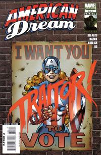 Cover for American Dream (Marvel, 2008 series) #3