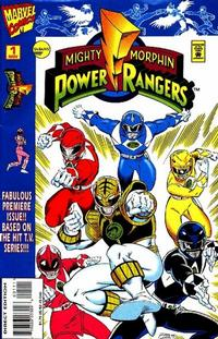 Cover Thumbnail for Saban's Mighty Morphin Power Rangers (Marvel, 1995 series) #1