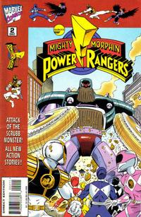 Cover Thumbnail for Saban's Mighty Morphin Power Rangers (Marvel, 1995 series) #2
