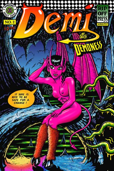 Cover for Demi the Demoness (Rip Off Press, 1993 series) #2