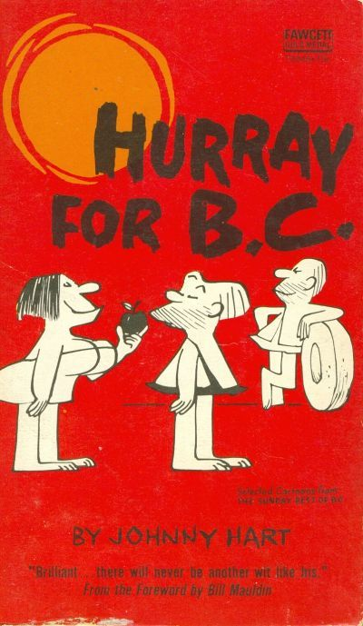 Cover for Hurray for B.C. (Gold Medal Books, 1968 series) #T3046