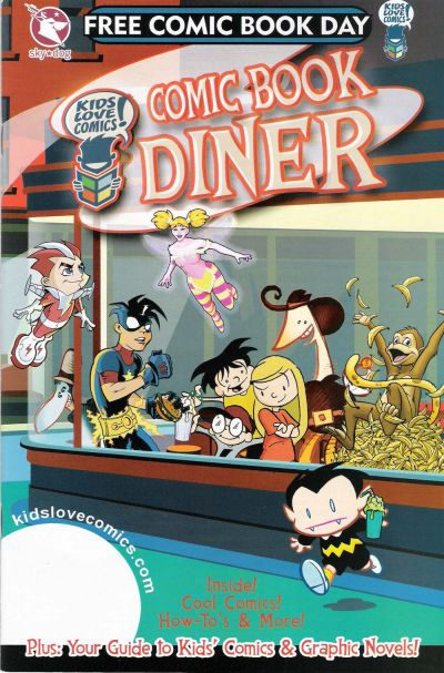 Cover for Kids Love Comics: Comic Book Diner Special Edition (Sky-Dog Press, 2008 series)