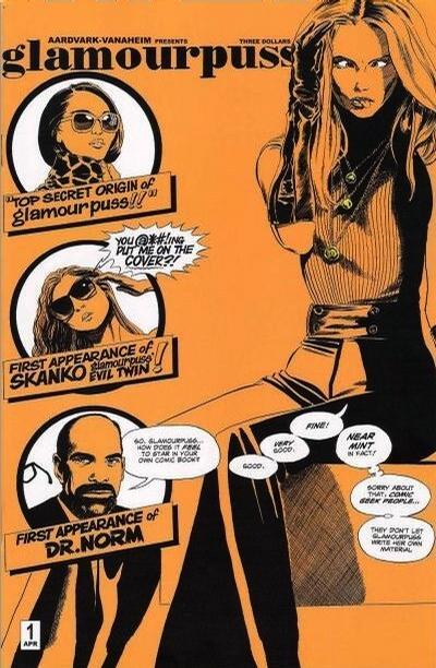 Cover for glamourpuss (Aardvark-Vanaheim, 2008 series) #1 [Comic Edition]
