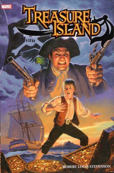 Cover for Marvel Illustrated: Treasure Island (Marvel, 2008 series)