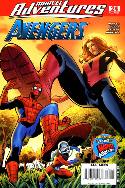 Cover for Marvel Adventures The Avengers (Marvel, 2006 series) #24