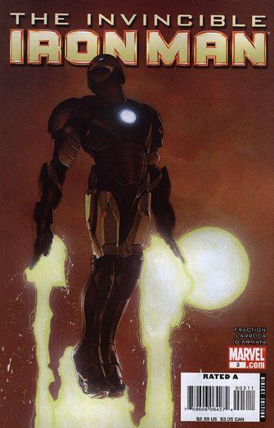 Cover for Invincible Iron Man (Marvel, 2008 series) #3 [Travis Charest Variant Cover]