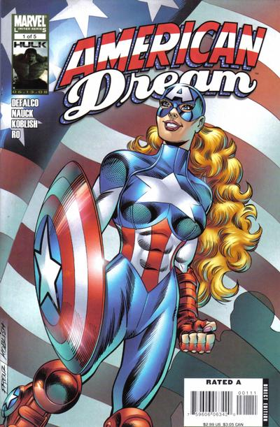 Cover for American Dream (Marvel, 2008 series) #1