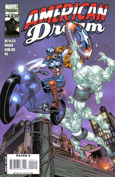 Cover for American Dream (Marvel, 2008 series) #2