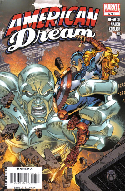 Cover for American Dream (Marvel, 2008 series) #5