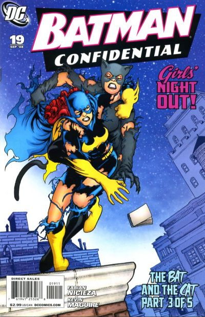 Cover for Batman Confidential (DC, 2007 series) #19 [Newsstand]