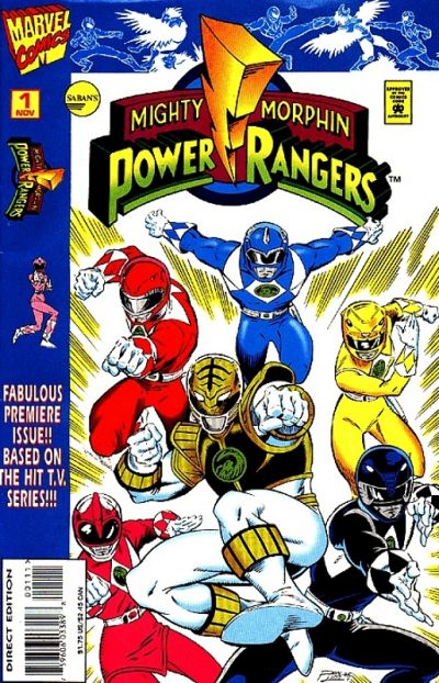 Cover for Saban's Mighty Morphin Power Rangers (Marvel, 1995 series) #1