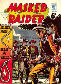 Cover Thumbnail for Masked Raider (L. Miller & Son, 1957 series) #67