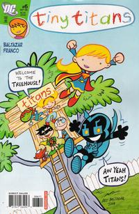 Cover Thumbnail for Tiny Titans (DC, 2008 series) #6
