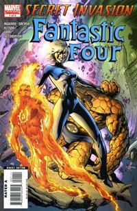 Cover Thumbnail for Secret Invasion: Fantastic Four (Marvel, 2008 series) #1