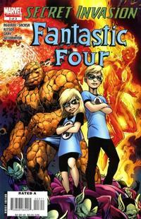 Cover Thumbnail for Secret Invasion: Fantastic Four (Marvel, 2008 series) #3