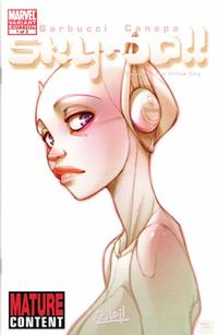 Cover Thumbnail for Sky Doll (Marvel, 2008 series) #1 [Variant Edition]