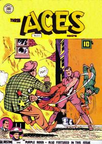 Cover Thumbnail for Three Aces Comics (Anglo-American Publishing Company Limited, 1941 series) #51