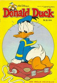 Cover Thumbnail for Donald Duck (Geïllustreerde Pers, 1990 series) #33/1994