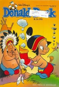 Cover Thumbnail for Donald Duck (Geïllustreerde Pers, 1990 series) #36/1995